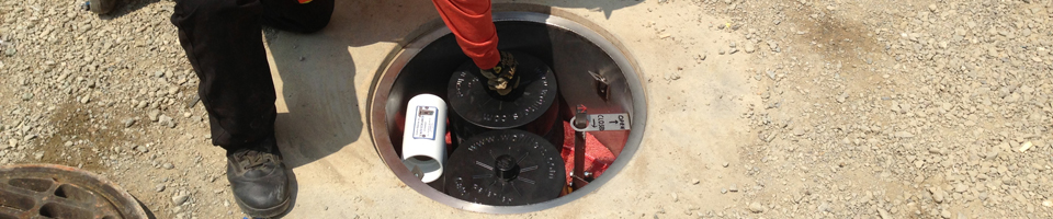 Manhole Odor Eliminator - Installed